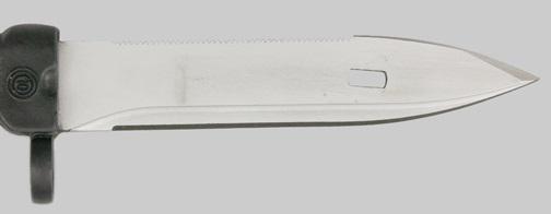 болгарской копии советского штык ножа обр. 1989 года 6Х5 (01)