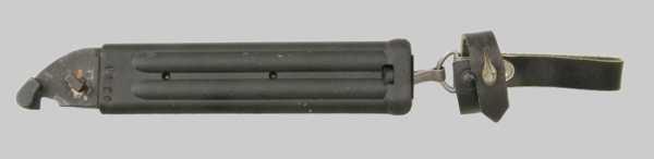 копия советского штык ножа обр. 1989 года 6Х5 к автомату АК 74 06