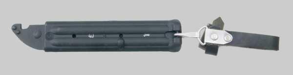 копия советского штык ножа обр. 1989 года 6Х5 к автомату АК 74 07