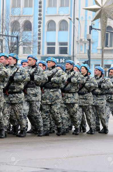 8653008 varna bulgaria january 6 military parade in varna epiphany water blessing of the bulgarian army flag