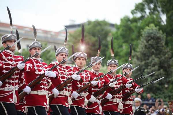 National Guard parade unit