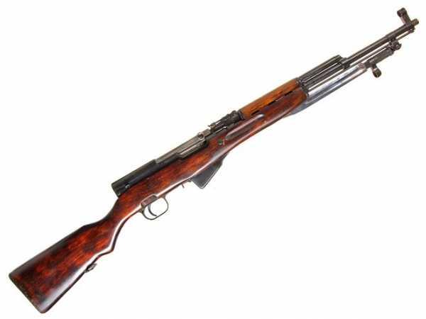 карабин Симонова (СКС 45) с клинковым штыком 11
