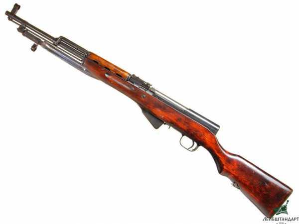 карабин Симонова (СКС 45) с клинковым штыком 12
