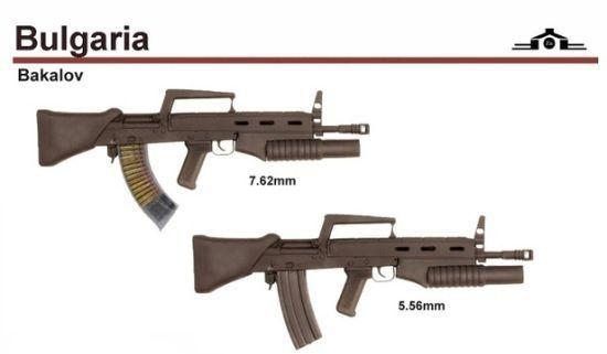 карабины Бакалова (ШКБ) в калибрах 7,62 и 5,56 мм (02)