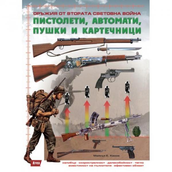 21 Обложка книги Оръжия от Втората световна война. Пистолети, автомати, пушки и картечници