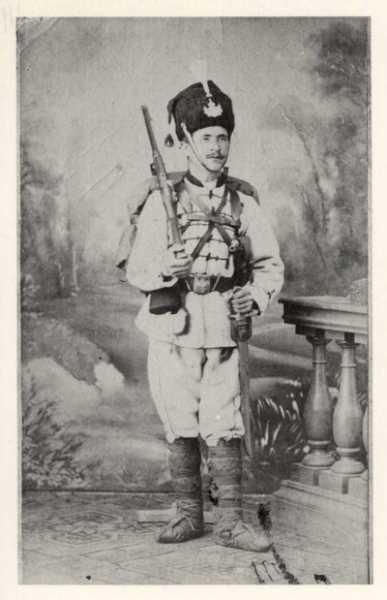 Branislav Veleshki   legionnaire of the 1st Bulgarian legion