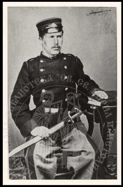Стефан Грозданов е участник във Втора българска легия (Белград, 1868 год)