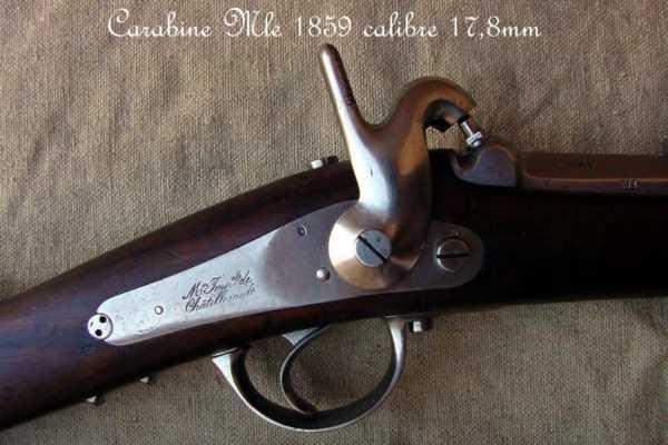 collection de fusils par alain gillot carabine mle 59 02f