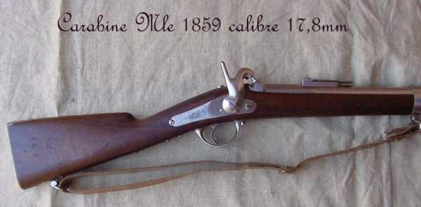 collection de fusils par alain gillot carabine mle 59 03f