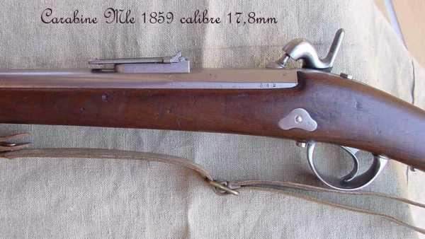 collection de fusils par alain gillot carabine mle 59 06f