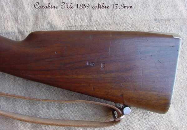 collection de fusils par alain gillot carabine mle 59 09f
