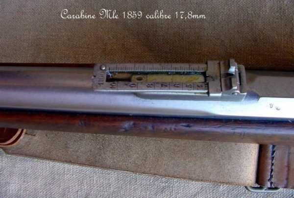 collection de fusils par alain gillot carabine mle 59 12f