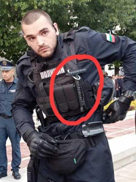 Военнослужащий Службы Военной полиции Республики Болгарии 01
