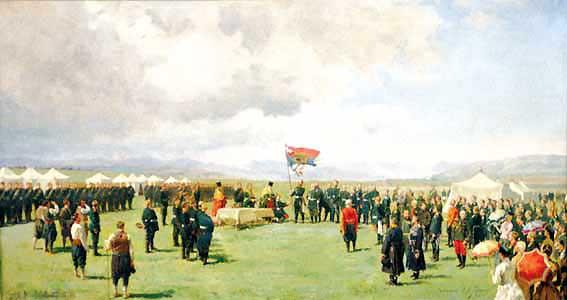 на знамето на Българското опълчение