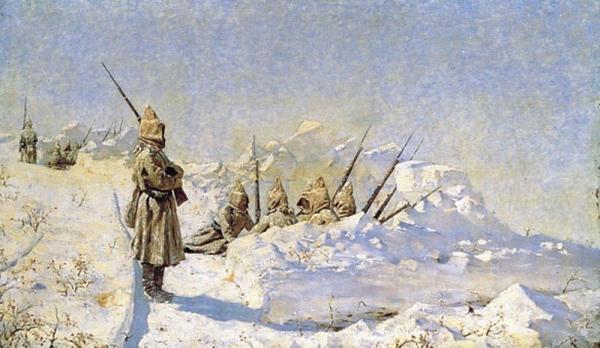 позиции на Шипкинском перевале