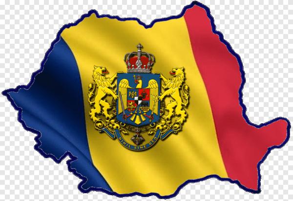 Румыния в виде флага и герба 01