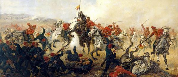 кавалерия громит турок османов в русско турецкой войне 1877 1878 годов 01