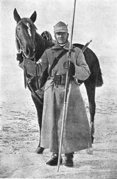Румынский кавалерист с пикой (ПМВ) 01