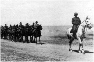 Румынская кавалерия в украинских степях. 1941 год 01