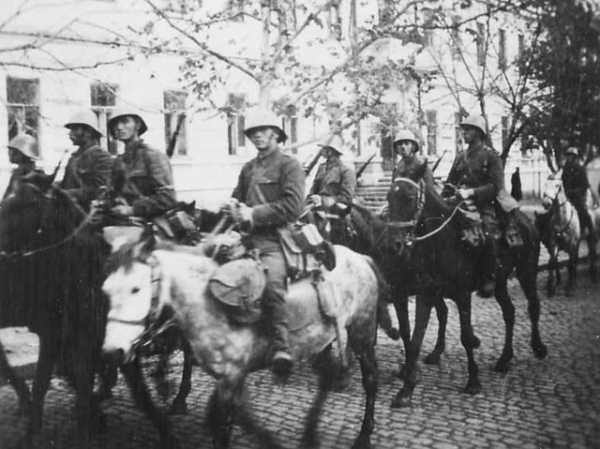 Румынская кавалерия 41