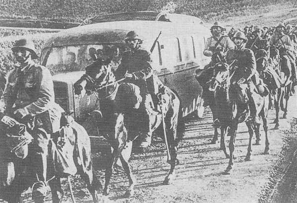 Румынская кавалерия под Одессой