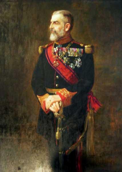 Портрет румынского короля Кароля I (01)