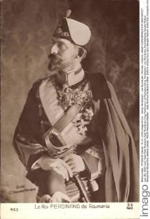 Koenig Ferdinand I von Rumaenien, Portrait, Uniform