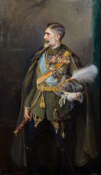 Портрет румынского короля Фердинанда I (01)