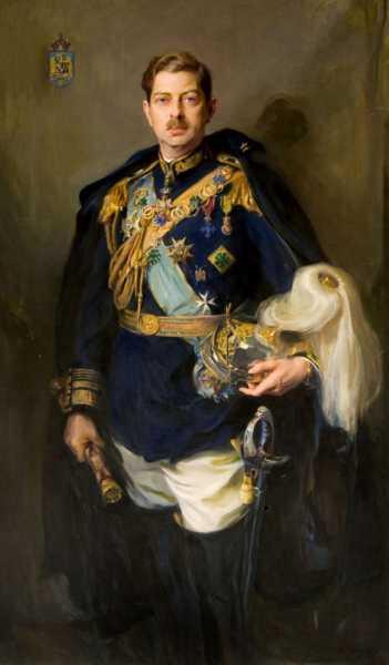 Портрет румынского короля Кароля II (01)