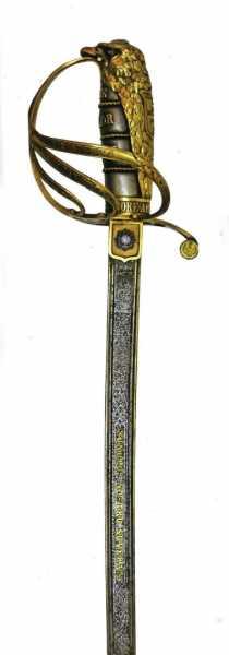Сабля румынского короля Кароля I 03