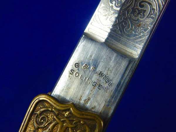 Romanian Romania WW2 German Made Engraved Officer s Sword 4 1024x1024