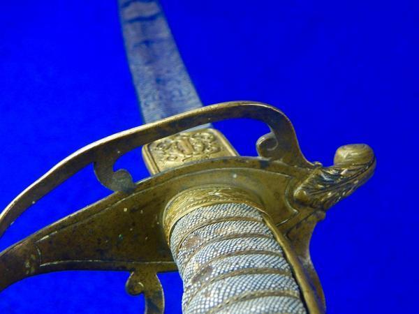 Romanian Romania WW2 German Made Engraved Officer s Sword 19 1024x1024