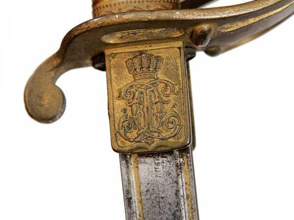 Сабля румынская кавалерийская офицерская обр. 1893 (возможно 1893 1909) года 09