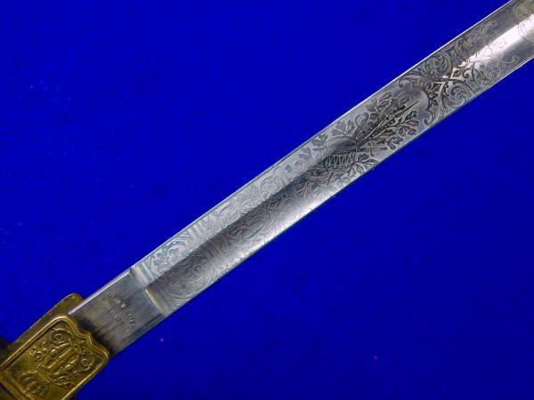 Romanian Romania WW2 German Made Engraved Officer s Sword 26 1024x1024