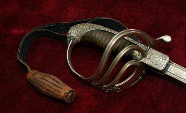 Сабля румынская кавалерийская офицерская обр. 1893 1909 года 02