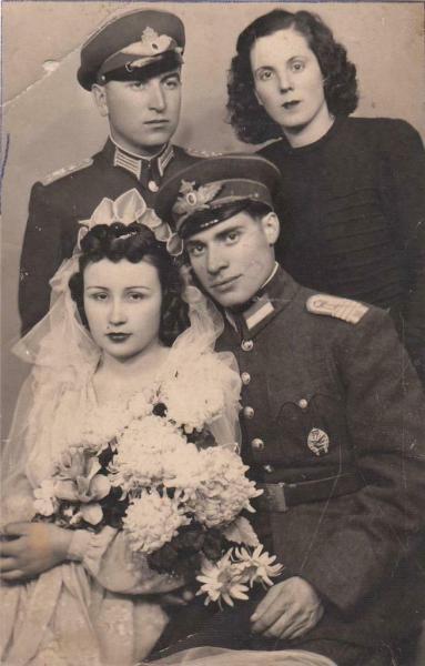 WW2 Bulgaria Bulgarian Royal Pilot Officer Photo