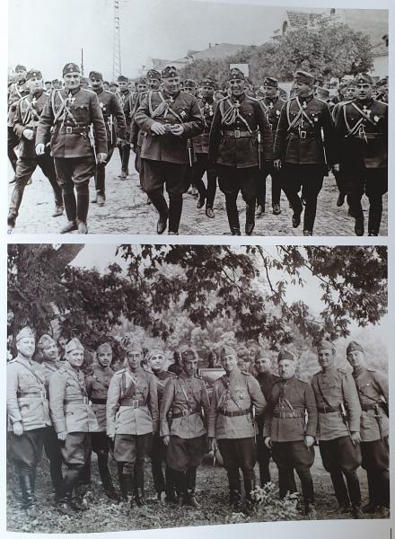 и офицеры болгарской армии с армейскими офицерскими кортиками обр. 1936 года (01)