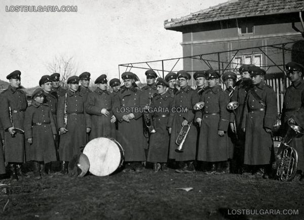 военен оркестър, Търговище, 1934 г.
