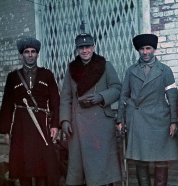 Stabswache de Euros Cossack Volunteers