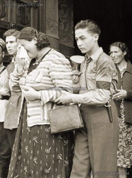 болгарской молодёжной организации «Бранник» с ножом обр. 1941 года 07