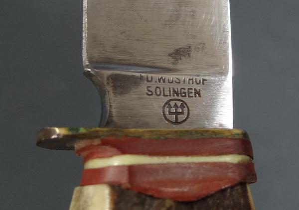 Wwii Bulgarian Boy Scout German Edwusthof Solingen Award  57 (9)