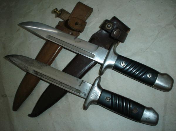 болгарских армейских ножа обр. 1953 года 01