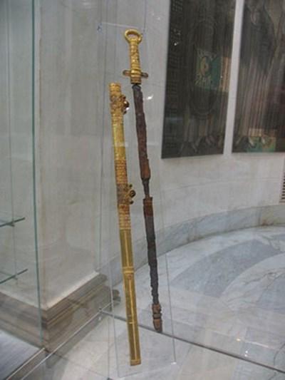 хана Кубрата (предположительно) из Перещепинского клада 03