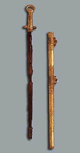 хана Кубрата (предположительно) из Перещепинского клада 04
