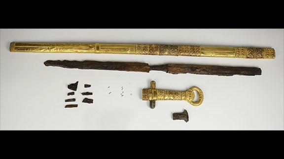 хана Кубрата (предположительно) из Перещепинского клада 06