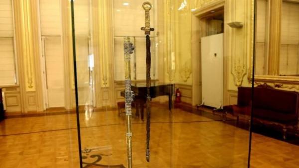 хана Кубрата (предположительно) из Перещепинского клада 07