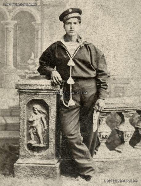 портрет на моряк от Дунавската флотилия, Русе 1900 г.