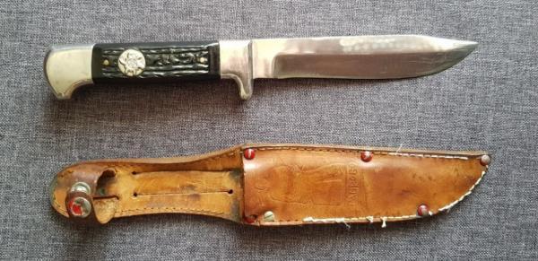 нож 1960 х годов (произведён в Габрово) 01