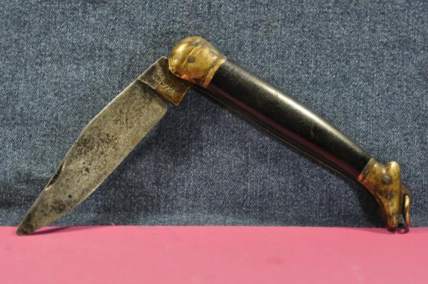 складной нож (XX в.) 09 03
