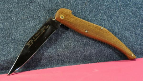 складной нож (XX в.) 12 02